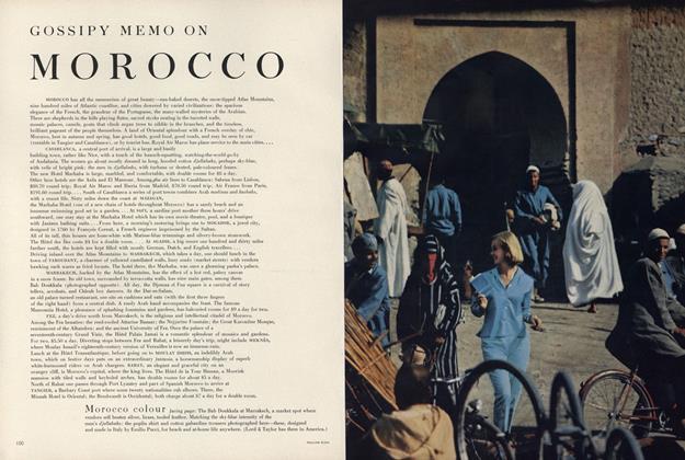 On Morocco