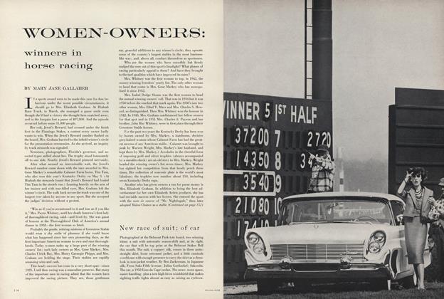 Women-Owners: Winners in Horse Racing
