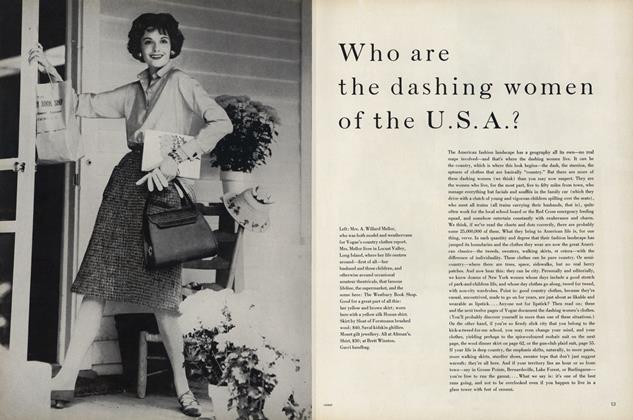Who are the Dashing Women of the U.S.A.?