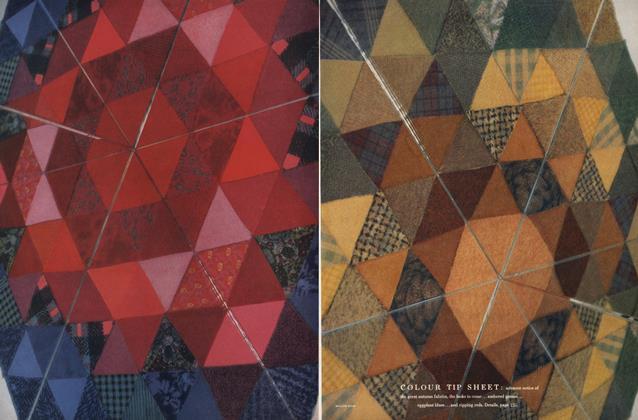 Colour Tip Sheet: New Fabrics