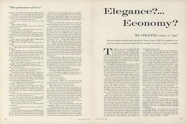 Elegance?...Economy?