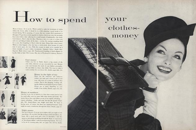 How to spend your clothes-money
