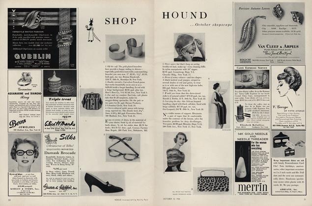 Shop Hound...October Shopscape