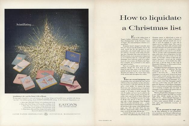 How to Liquidate a Christmas List