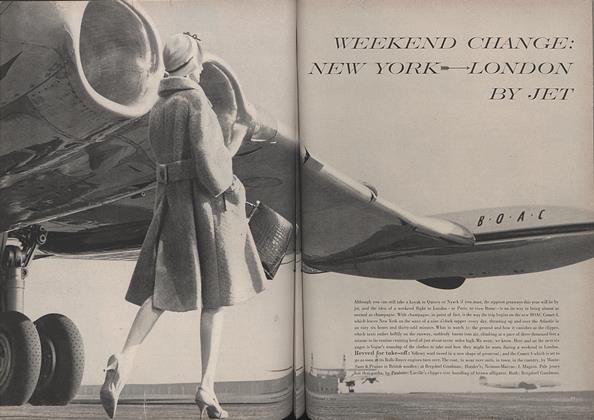 Weekend Change: New York to London by Jet