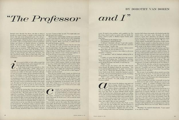 """""""The Professor and I"""""""