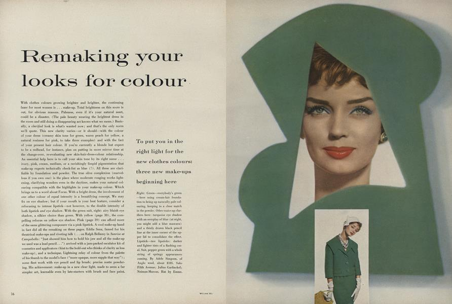 Remaking Your Looks for Colour