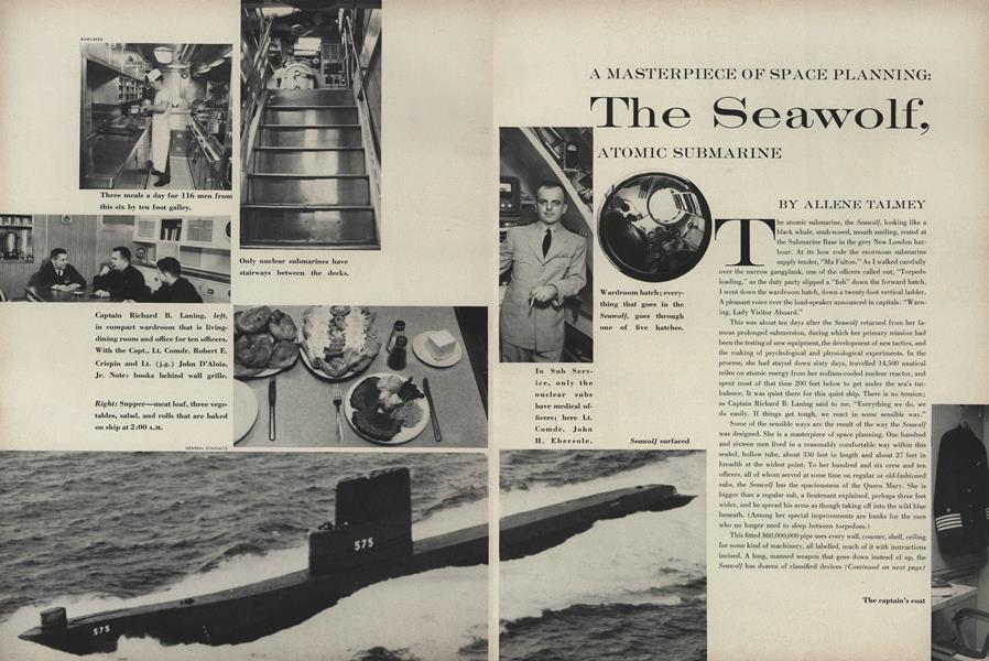 A Masterpiece of Space Planning: The Seawolf, Atomic Submarine
