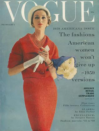 Cover for the February 1 1959 issue