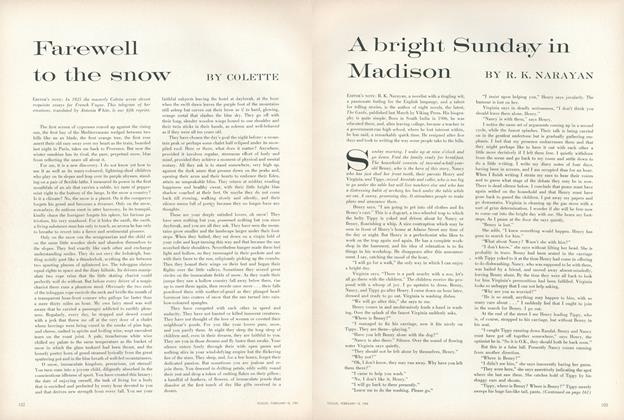 Article Preview: Farewell to the Snow, February 15 1959 | Vogue