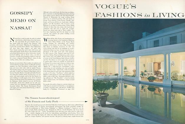 Article Preview: Gossipy Memo on Nassau, February 15 1959 | Vogue