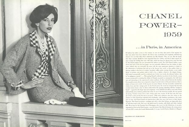 Chanel Power - 1959...In Paris, In America