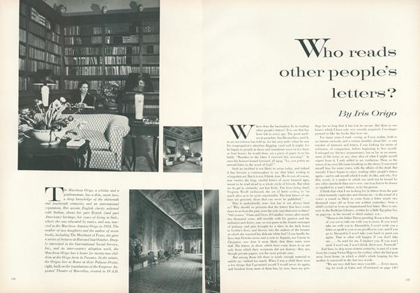 Who Reads Other People's Letters?