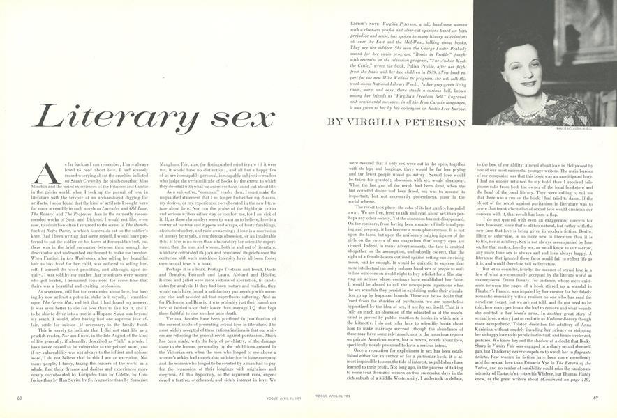 Literary Sex