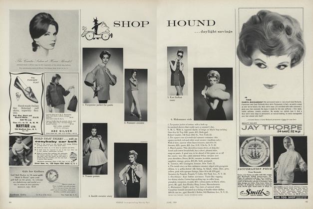 Shop Hound... Daylight Savings