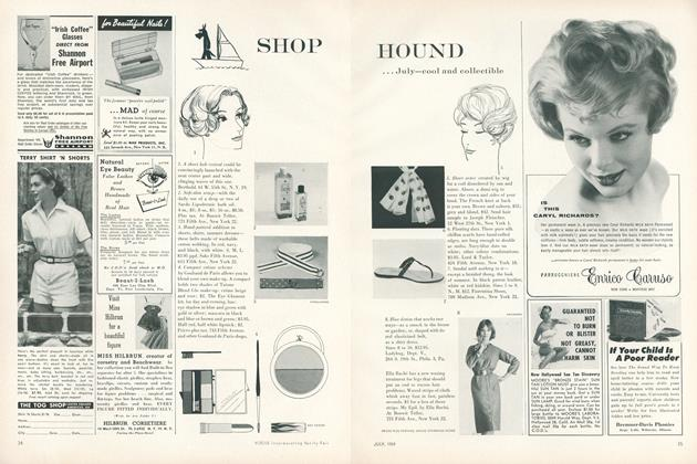Shop Hound...July—Cool and Collectible