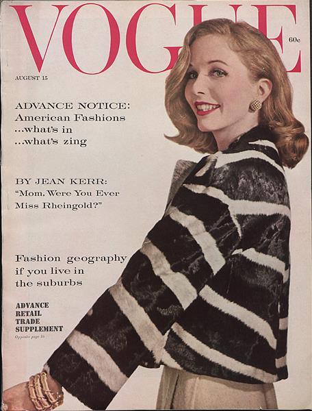 Issue: - August 15 1959   Vogue