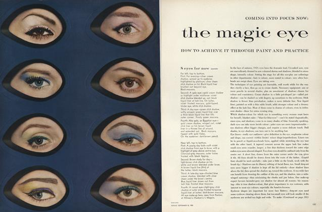 Coming Into Focus Now: The Magic Eye