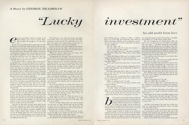 ''Lucky Investment''