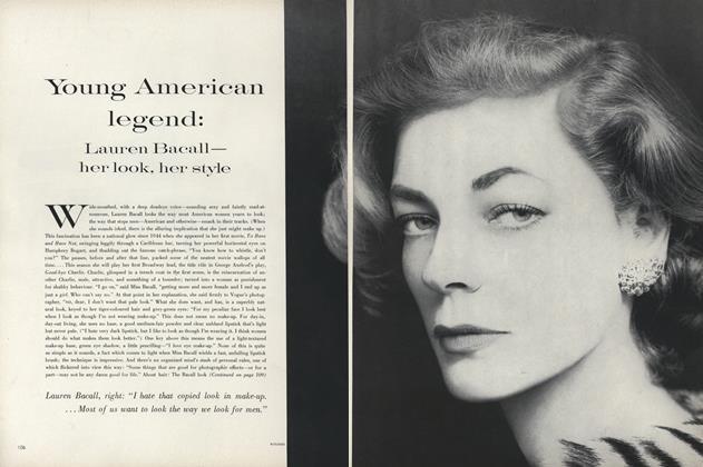 Young American Legend: Lauren Bacall, Her look, Her Style