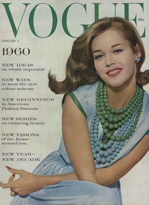 Cover for the January 1 1960 issue