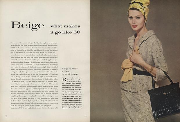Beige—What Makes it Go Like '60