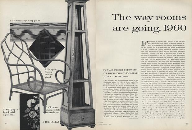 The Way Rooms are Going, 1960