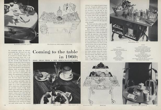 Coming to the Table in 1960: Food Ideas from a New Restaurant-Success