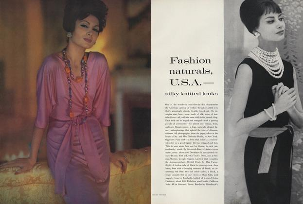 Silky Knitted Looks