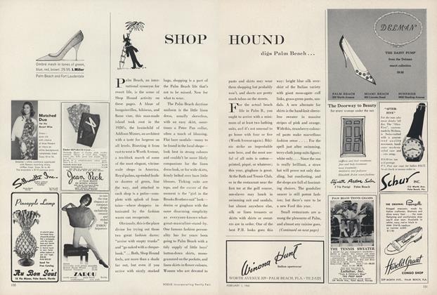 Shop Hound...Digs Palm Beach