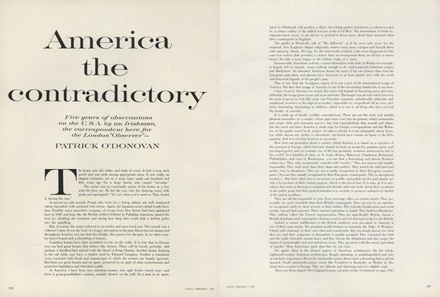 America the Contradictory