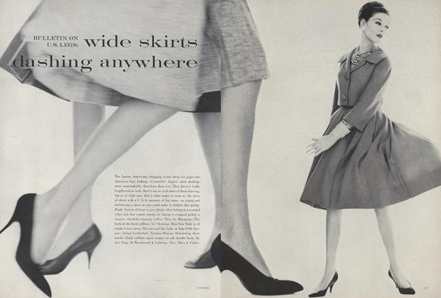 Bulletin on U.S. Legs: Wide Skirts Dashing Anywhere