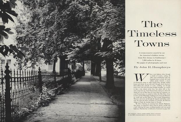 The Timeless Towns
