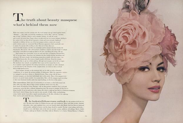 Article Preview: The Truth about Beauty Masques: What's Behind Them Now, March 1 1960 | Vogue