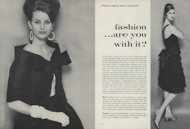Fashion...Are You with It?