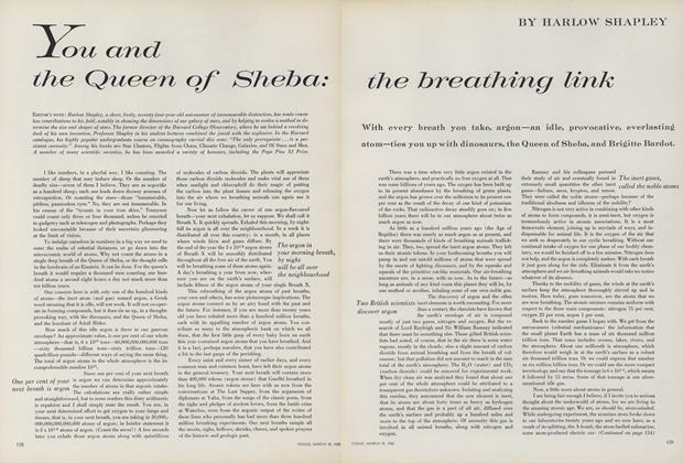 You and the Queen of Sheba: the Breathing Link