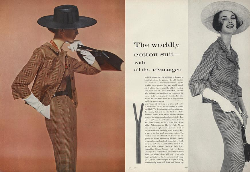 The Worldly Cotton Suit—With All the Advantages