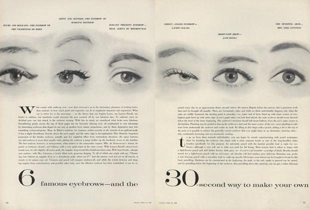 6 Famous Eyebrows—and the 30-second Way to Make Your Own