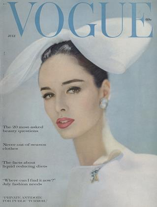 Cover for the July 1960 issue