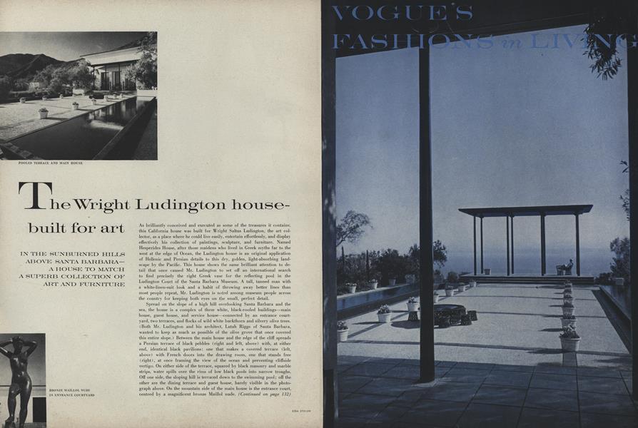 The Wright Ludington House - Built for Art