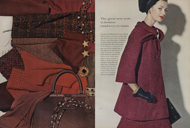 Article Preview: All told: the new clothes-colours, August 15 1960 | Vogue