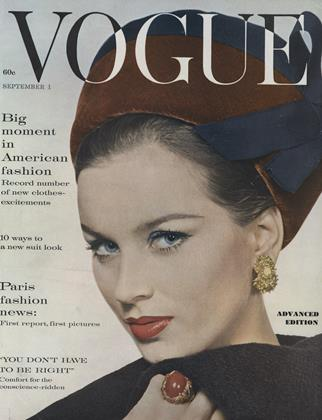 Cover for the September 1 1960 issue