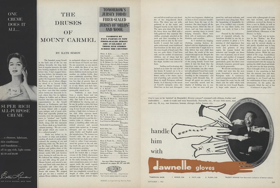 The Druses of Mount Carmel
