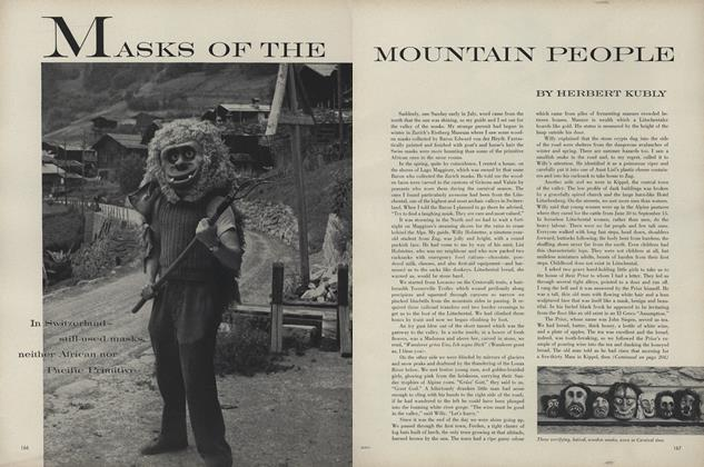 Masks of the Mountain People: In Switzerland