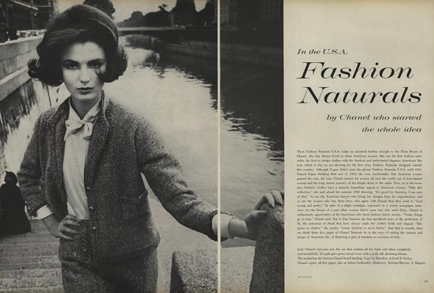 In the U.S.A Fashion Naturals by Chanel Who Started the Whole Idea