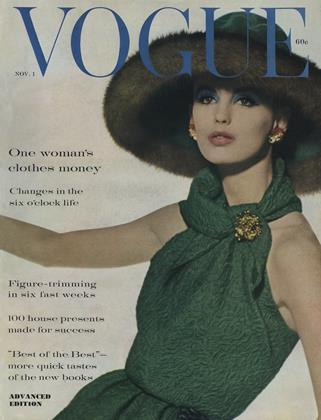 Cover for the November 1 1960 issue
