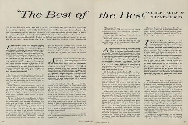 """""""The Best of the Best"""": Quick Tastes of New Books"""