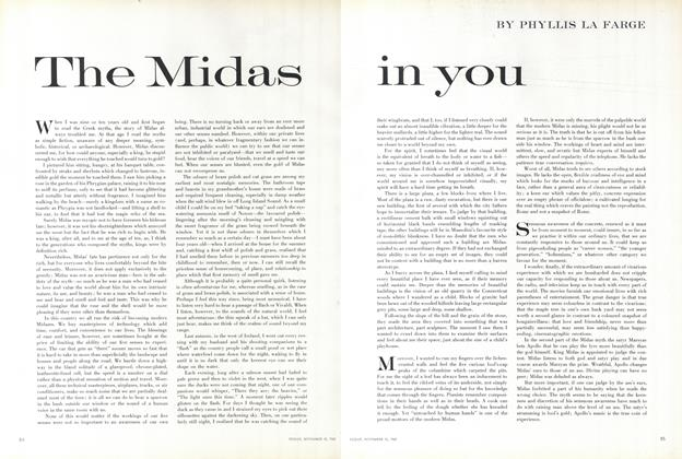 The Midas in You
