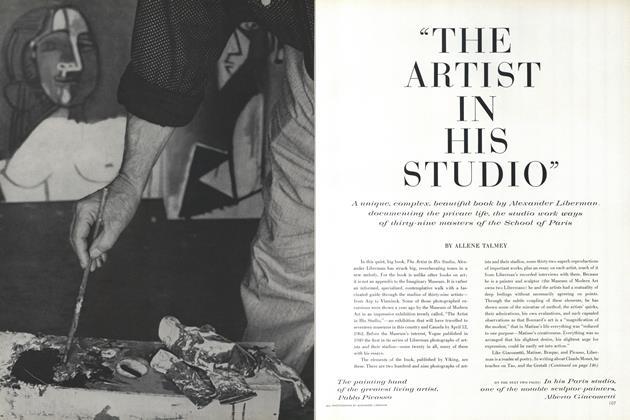 """The Artist in His Studio"""