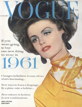 Cover for the January 1 1961 issue